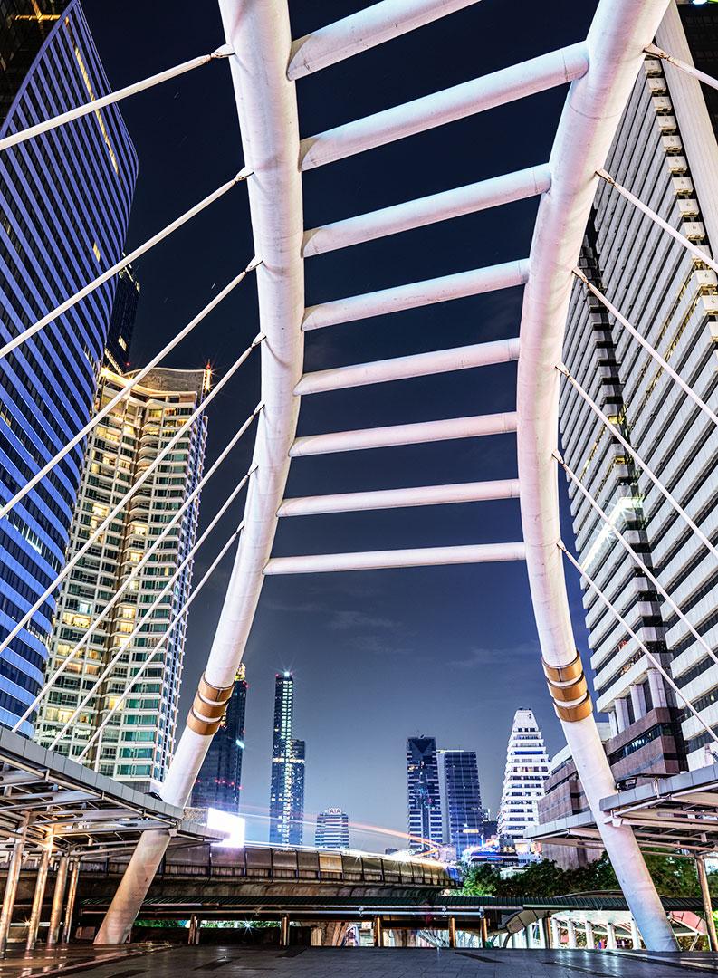 Bangkok Chong Nonsi Bridge